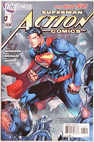 Action Comics #1 the New 52 Jim Lee Retailer Variant