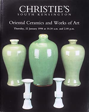 Christie's Oriental Ceramics and Works of Art (22 January 1998)