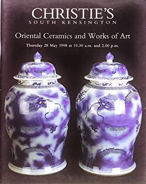 Christie's Oriental Ceramics and Works of Art (28 May 1998)