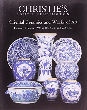 Christie's Oriental Ceramics and Works of Art (8 January 1998)