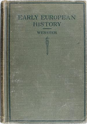 Early European History: Hutton Webster