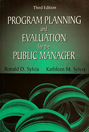 Program Planning and Evaluation for the Public Manager, Third Edition