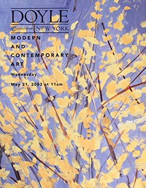 Doyle New York : Modern and Contemporary Art, European and American Art: December 3, 2003