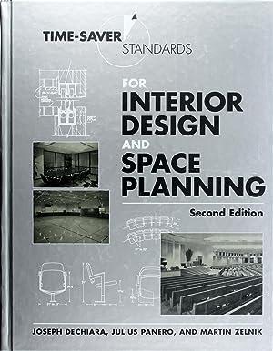 Time-Saver Standards for Interior Design and Space: Julius Panero, Martin