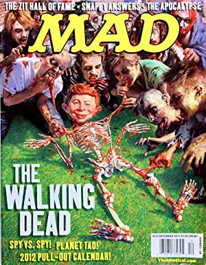 Mad Magazine Issue 512 December 2011