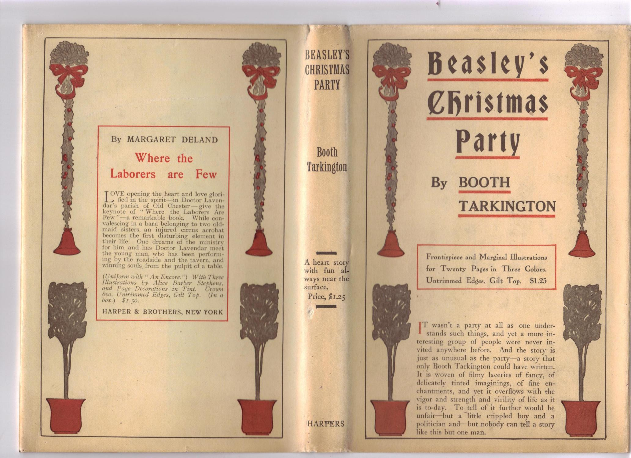 Beasley's Christmas Party Tarkington, Booth Fine Hardcover