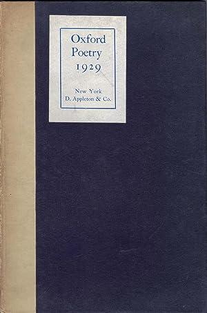 Oxford Poetry 1929: MacNeice, Louis & Spender, Stephen (Editors)