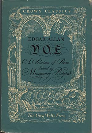 A Selection of Poems By Edgar Allan: Belgion, Montgomery (Editor)