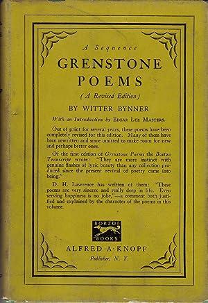 Grenstone Poems: Bynner, Witter
