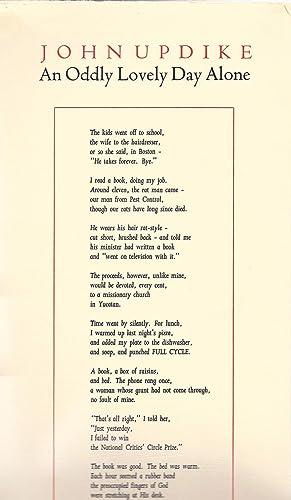 An Oddly Lovely Day Alone: Updike, John