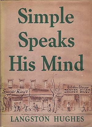 Simple Speaks His Mind: Hughes, Langston