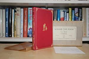 Winnie-the-Pooh', UK first deluxe edition in red: Milne, A.A. (Alan