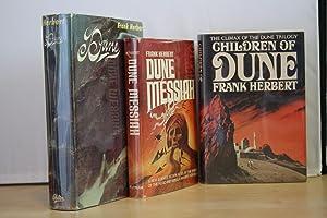Dune' trilogy (1965-1976), US first editions, first: Herbert, Frank