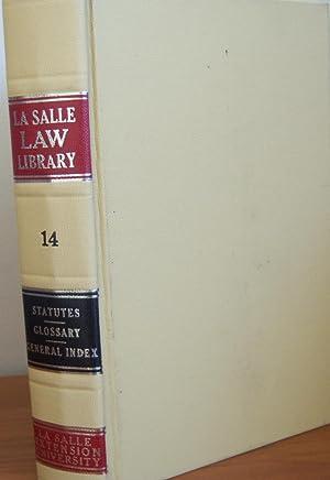 La Salle Law Library Volume 14: La Salle Law
