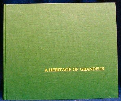 A Heritage of Grandeur Crutchfield, James A. Near Fine Hardcover A beautiful book of 55 Williamson County, Tennessee, homes, with color photos and histories. Pages clean and bright. Pages clean and bright.