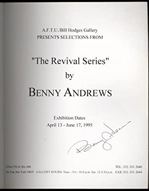 "The Revival Series"" by Benny Andrews: A.F.T.U/Bill Hodges Gallery, April 13-June 17, 1995..."