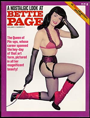 A Nostalgic Look At Bettie Page (Volume 4 Number 4): Eros Publishing