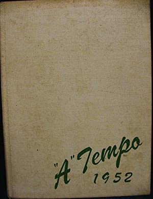 "A"" Tempo 1952 - Yearbook Annual: Cincinnati Conservatory of Music"