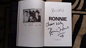 Ronnie Wood: The Autobiography SIGNED & Dated: Ronnie Wood *