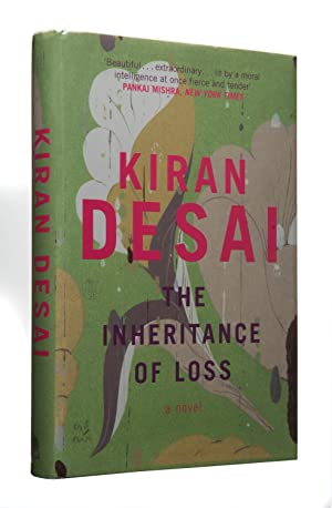 The Inheritance of Loss, UK 1/1 Signed plus bookmark