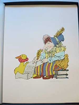 MOTHER GOOSE COLLECTION: Sendak, Maurice; Moser, Barry, Van Allsburg, Chris; Chwast, Seymour; ...