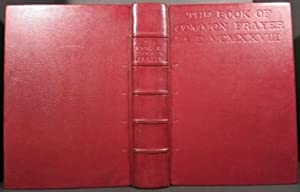 THE BOOK OF COMMON PRAYER AND ADMINISTRATION: Updike, D.B.]