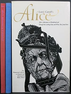 ALICE'S ADVENTURES IN WONDERLAND [with] THROUGH THE: Carroll, Lewis
