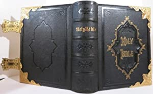 THE NATIONAL COMPREHENSIVE FAMILY BIBLE. THE HOLY BIBLE WITH THE COMMENTARIES OF SCOTT AND HENRY,...