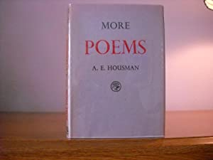 More Poems: Housman, A.E.