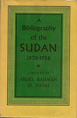 A Bibliography of the Sudan 1938-1958