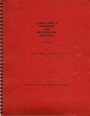 Genealogist's Handbook For New England Research: LINDBERG, MARCIA WISWALL