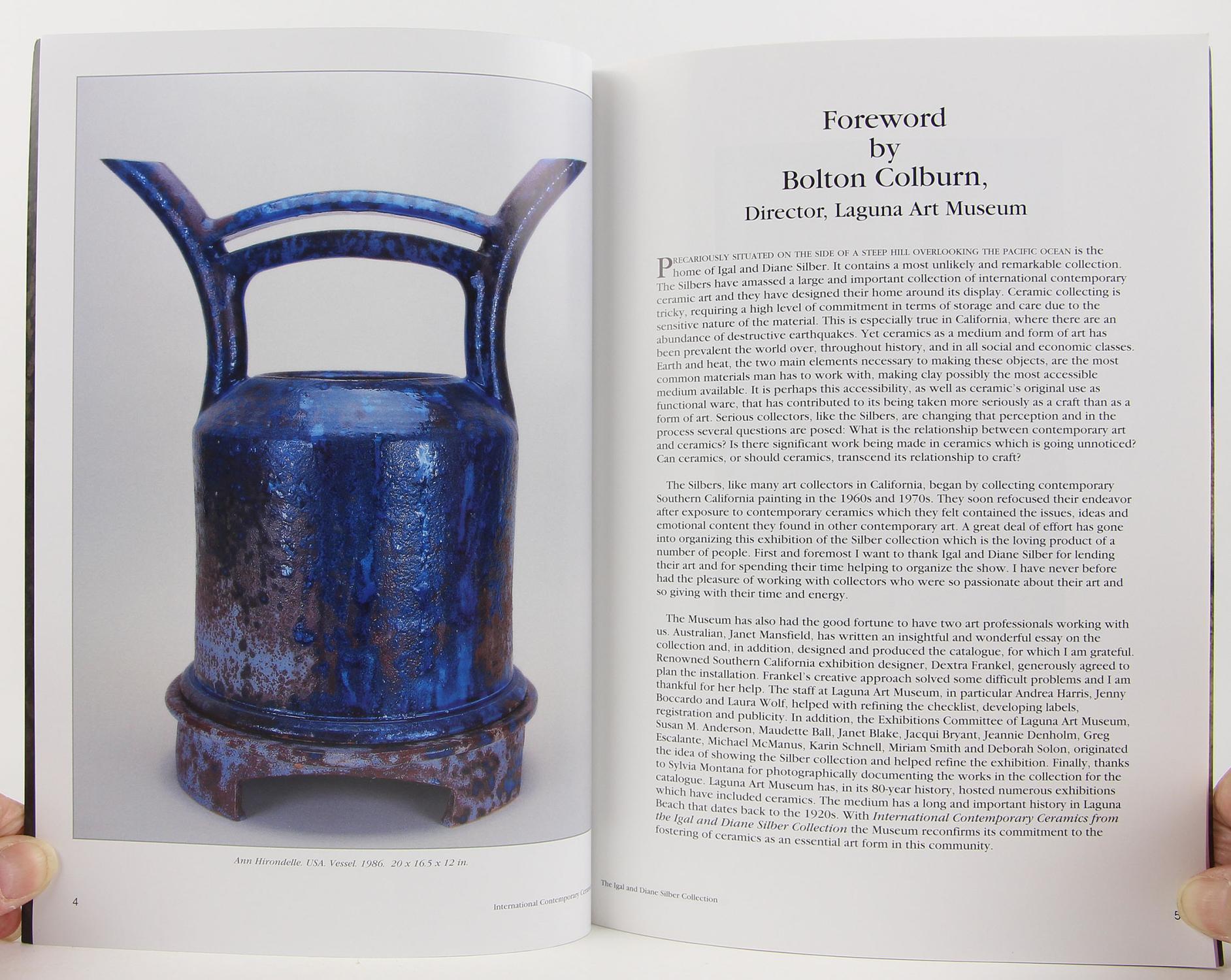 International Contemporary Ceramics from the