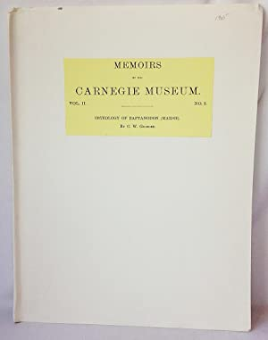 Osteology of Baptanodon (Marsh) (Memoirs of the