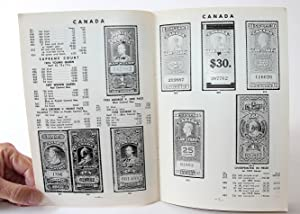 1964 Catalogue of the Revenue Stamps and Telegraph and Telephone Franks of Canada and the Provinces