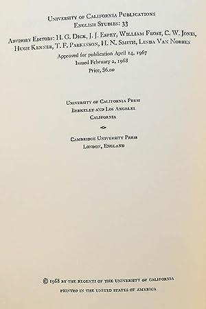 The Contra amatores mundi of Richard Rolle of Hampole (University of California publications. ...