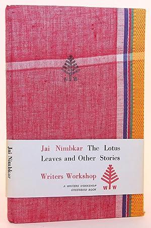 The lotus leaves & other stories: Nimbkar, Jai