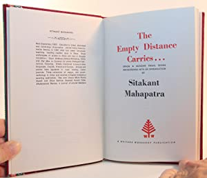The Empty Distance Carries .; Oraon & Mundari Tribal Songs Transcreated, with an Introduction ...