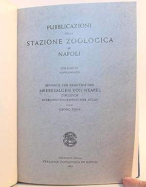 Beiträge zur Kenntnis der Meeresalgen von Neapel: Zugleich Mikrophotographischer Atlas (...
