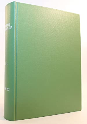 Tropical Lepidoptera, a Journal of The Association for Tropical Lepidoptera, Inc., Volumes 1 - 4 (...