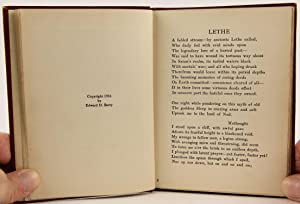 Lethe and Other Poems: Berry, Edward D.