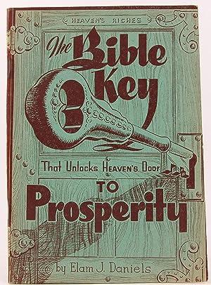 The Bible Key to Prosperity