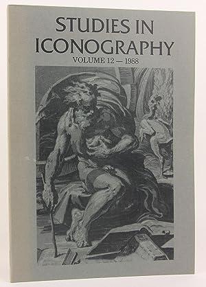 Studies in Iconography Volume 12, 1988
