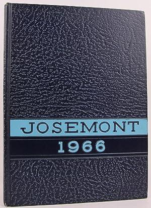 Josemont 1966 - St. Joseph High School, Fremont, Ohio Yearbook, Volume XIV: 1966, Senior Class of