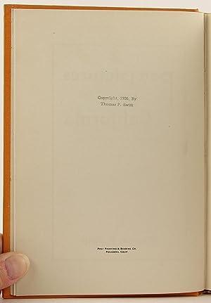 Pen Pictures of California.: Swift, Thomas P.