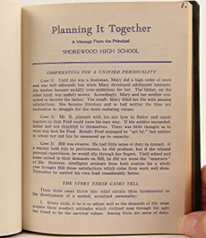 A Twelve-Year Compilation of The Leaflet Message, 'Planning It Together,' From Grant Rahn, ...
