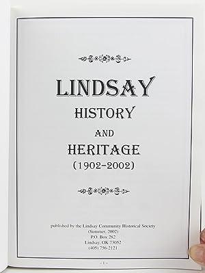 Lindsay History and Heritage (1902 - 2002): Lindsay Community History Society