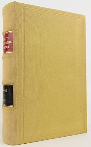 Kansas Constitutional Convention: A Reprint of the Proceedings and Debates of the Convention Which ...