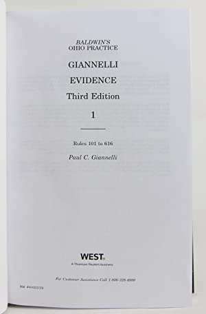 Giannelli Evidence