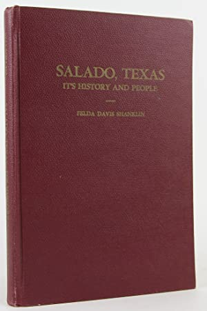 SALADO, TEXAS. It's History and People.: Shanklin, Felda Davis.
