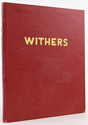 Story of Walter Samuel Withers 1833-1907 Also, Early Days in Atlanta: Shealy, Julia Harriet (editor...